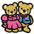 Medvědí pár - nažehlovačka