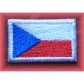 Česká vlajka - nášivka