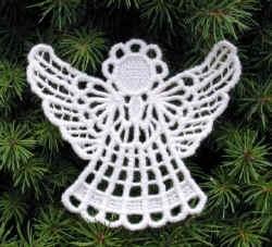 Andílek SM - vánoční ozdoba