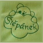 Fleece deka dětská - dvojitá s výšivkou na přání