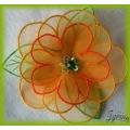Květina - brož