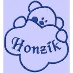 Fleece deka dětská - s výšivkou na přání + data